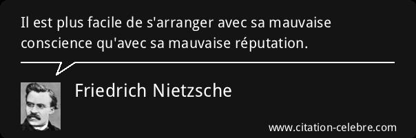 e-réputation - Citation Nietzsche
